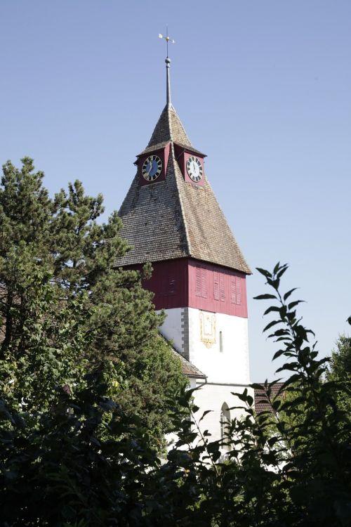 steeple rümlang church