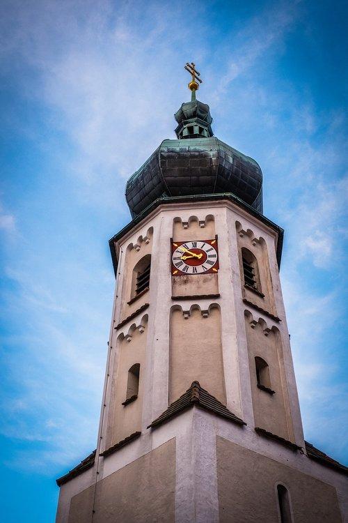 steeple  church  church clock