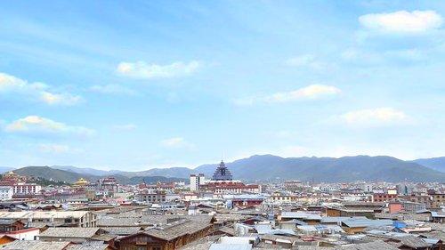 steeple  in yunnan province  settlement