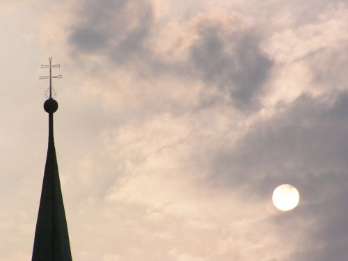 steeple cross christianity