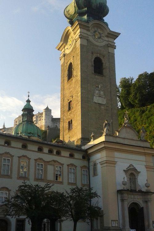 steeple st peter salzburg