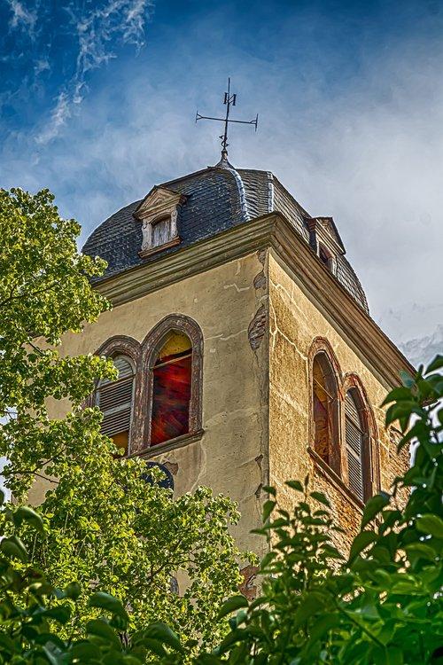 steeple  monastery  monastery church