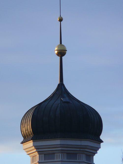 steeple spire onion dome