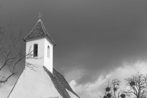 steeple clouds spire