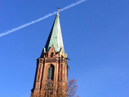 steeple lüneburg nicolai church