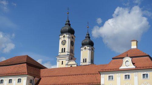 steeple roggenburg baroque