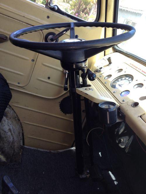 steering wheel steering column dashboard