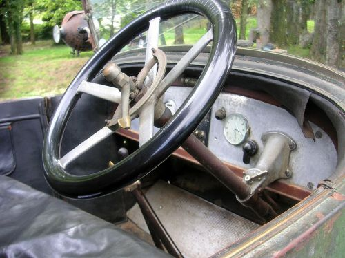 steering wheel vintage car dashboard old steering wheel