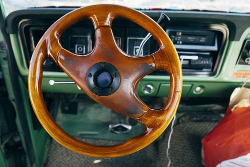 steering wheel car interior