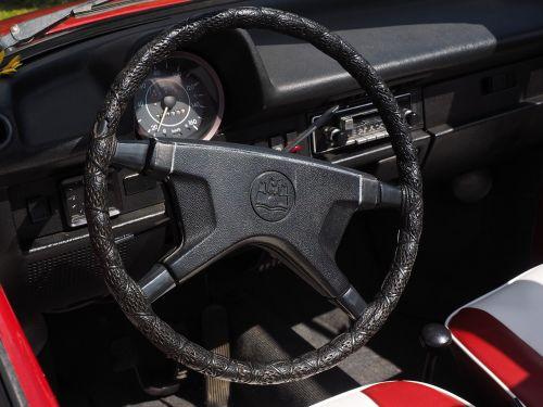 steering wheel interior speedometer