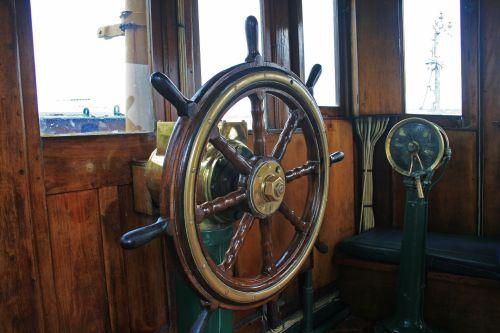 Steering Wheel Of Tug