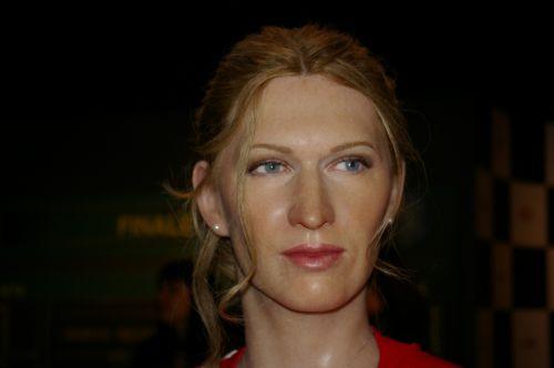 steffi graf tennis player wax figure