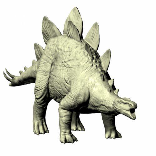 Stegosaurus Mannequin