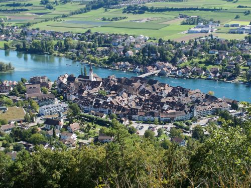 stein am rhein old town switzerland