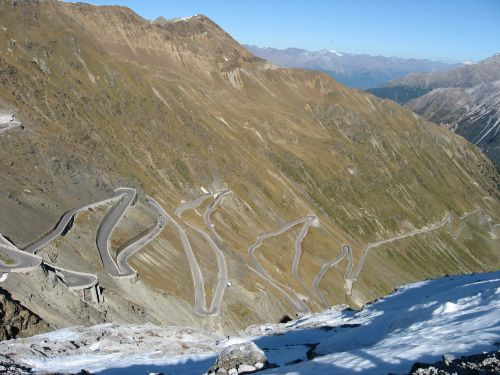stelvio yoke mountain pass stelvio