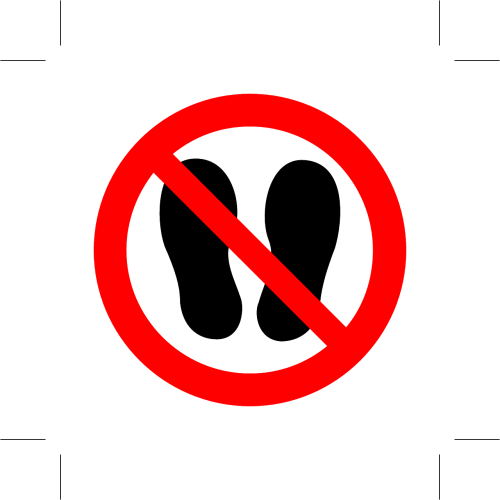 step walk prohibited