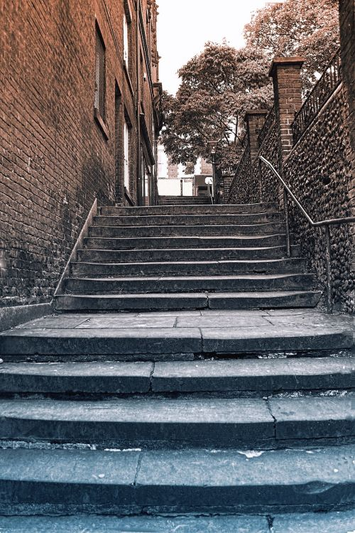 steps,old,street,city,urban,stone,outdoor