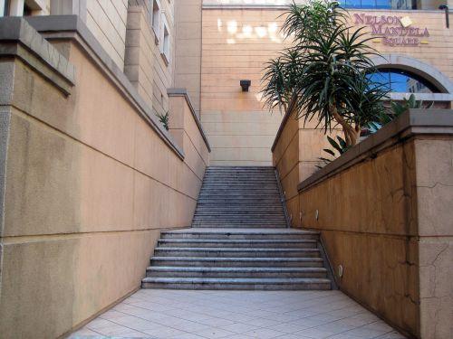 Steps To Nelson Mandela Square