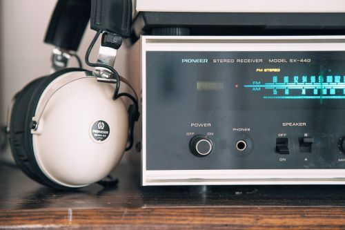 stereo receiver audio