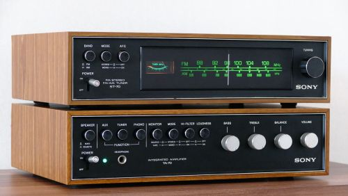 stereo vintage audio
