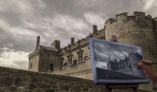 sterling castle castle sky