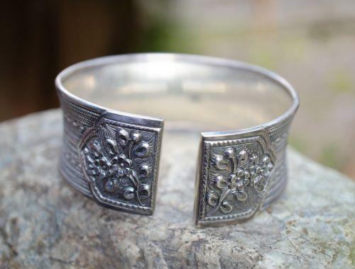 sterling silver bracelet silver