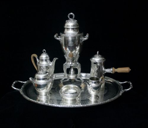 sterling silver tea sets sterling silver candelabra vintage dressing table