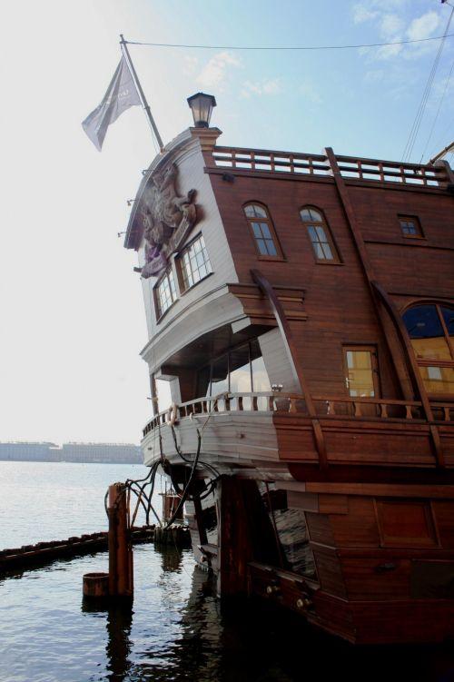 Stern Of Sail Ship