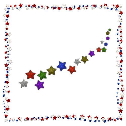 Stars Frame With Stars