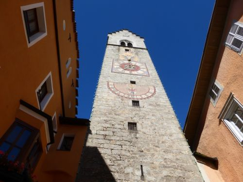 sterzing south tyrol clock tower