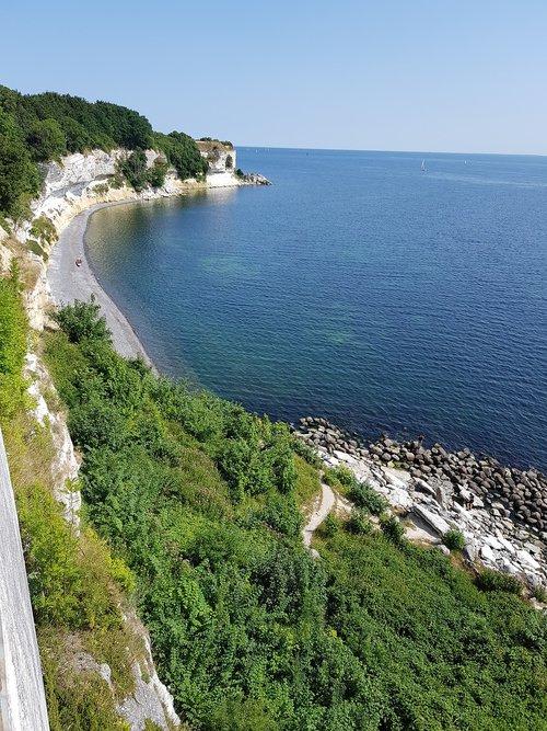 stevens klint  denmark  chalk cliffs