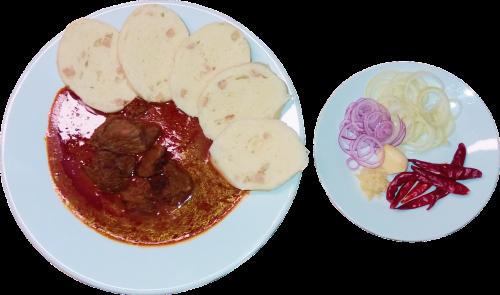 stew food plate
