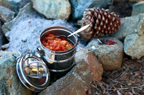 stew camping outdoor cooking