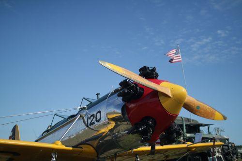 stewart florida air show plane propeller