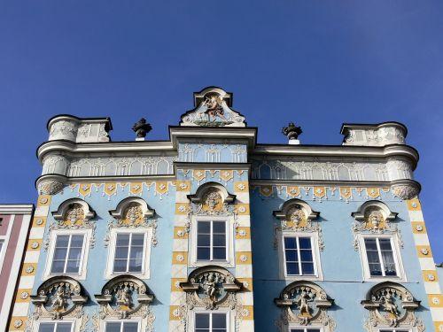 steyr house facade upper austria
