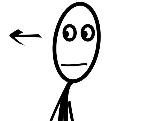stick figure face