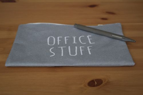 sticker home office pen