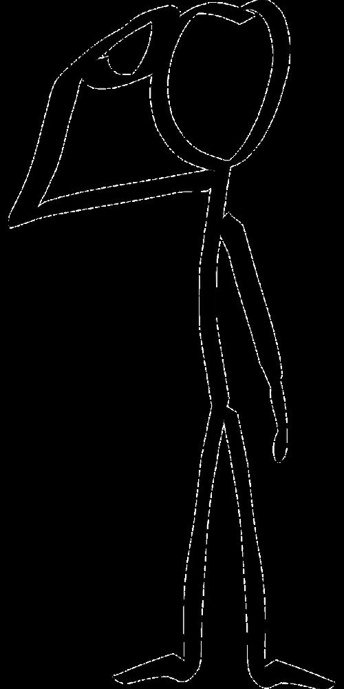 stickman stick figure matchstick man