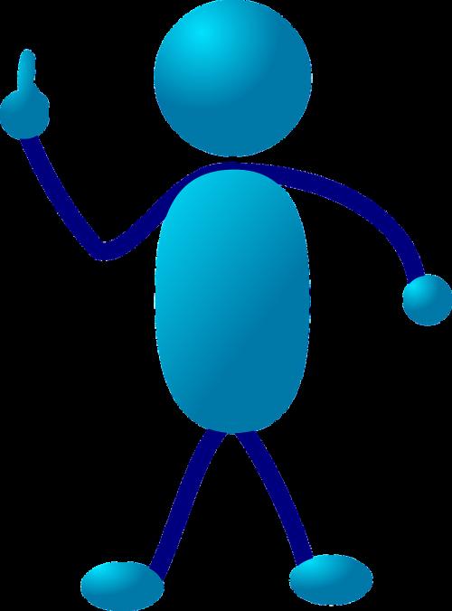 stickman stick figure cartoon