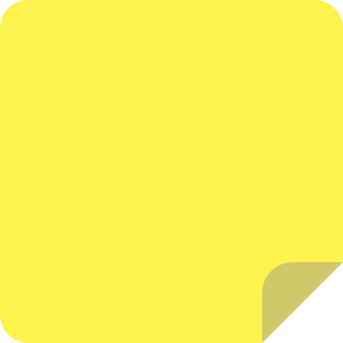 sticky notes icon yellow
