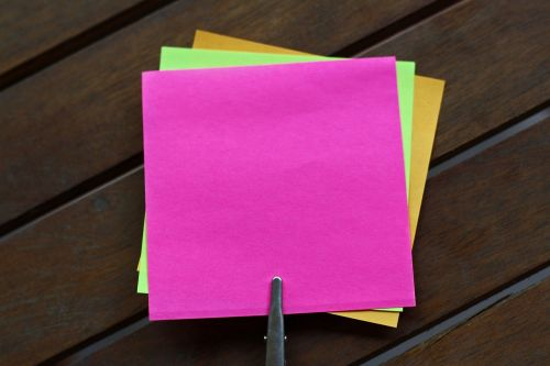 sticky notes blank sticky note