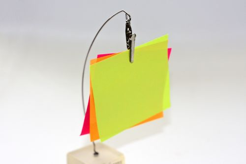 sticky notes post it blank