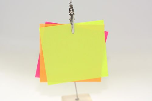 sticky notes notes messages