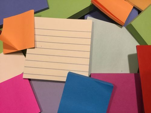 sticky notes organization sticky