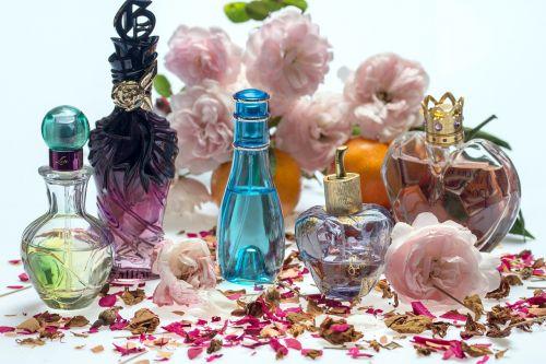 still life roses perfume