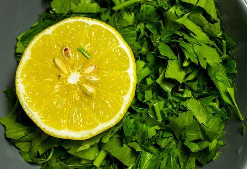 still life lemon greens