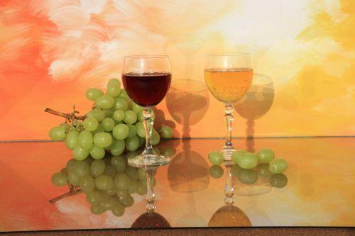 still life wine glasses glass