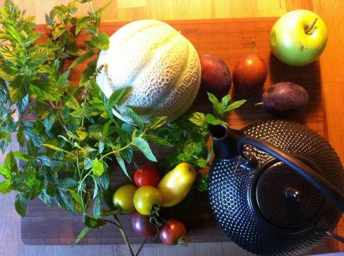 still life fruit kitchen