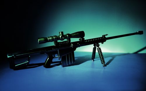 still life weapons sniper gun