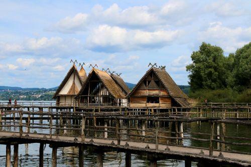 stilt houses unteruhldingen lake constance
